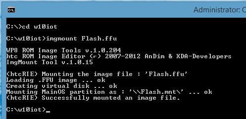 Installing Windows 10 IoT on Raspberry Pi 2 from Windows 8 | Joe Raio